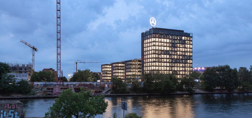 mercedes-benz unternehmenszentrale berlin