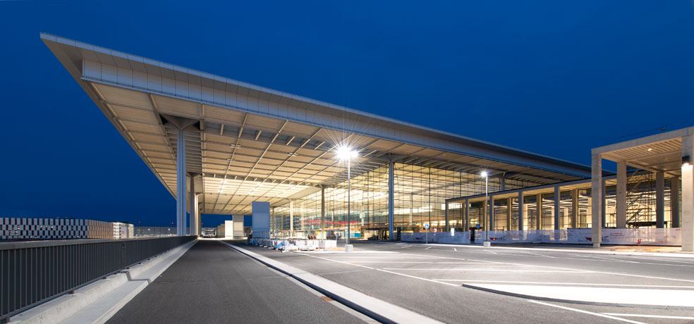 Flughafen Berlin Brandenburg Generalplanung Hochbau