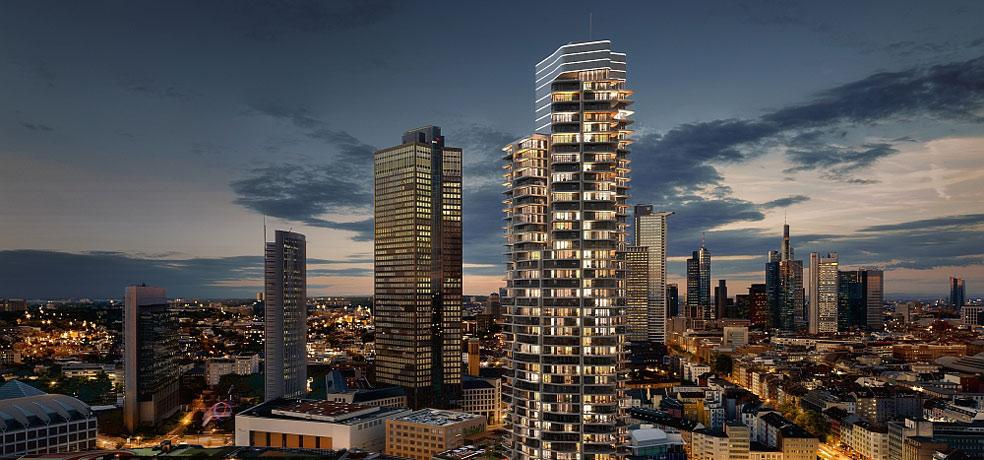 grand tower frankfurt am main. Black Bedroom Furniture Sets. Home Design Ideas